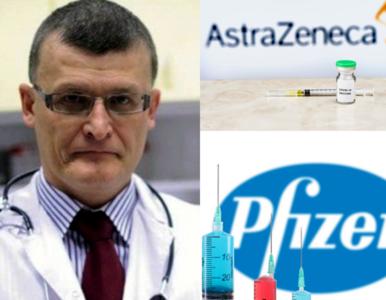 """""""Łączenie szczepionek mRNA i AstraZeneca jest korzystne"""" – czas na..."""