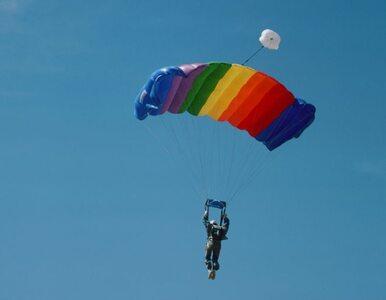 Zawodnik nie żyje, bo zawiódł spadochron