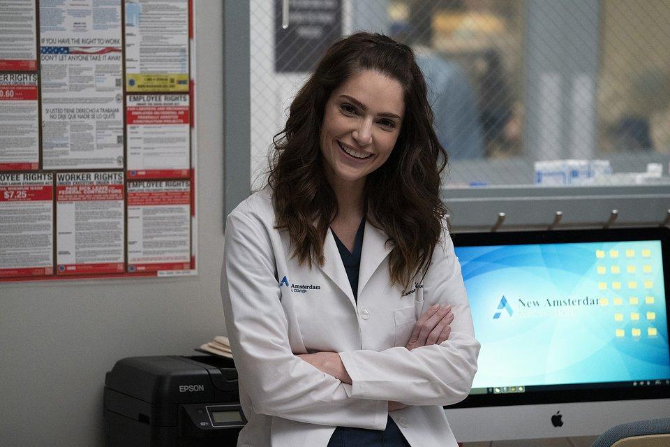 """Kadr z 3. sezonu serialu """"Szpital New Amsterdam"""""""