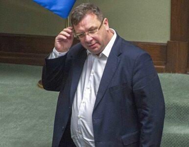 """Minister mówił o """"delegacjozie"""" i bronił decyzji prokuratury...."""