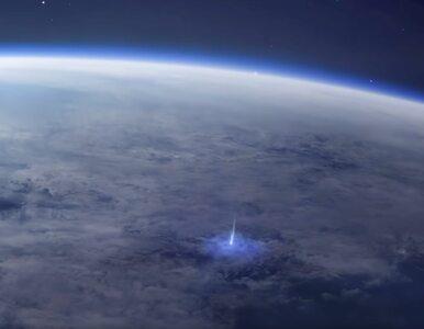 """Zaobserwowano """"pioruny"""", uderzające od ziemi, a nie do ziemi. ESA..."""