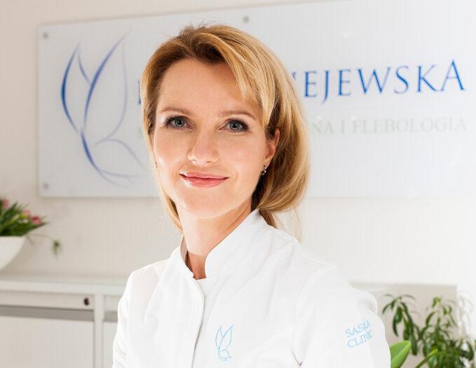 Dr Iwona Radziejewska-Choma, właścicielka Saska Clinic wWarszawie