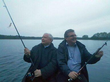 Prezes PiS łowił ryby na Pomorzu Zachodnim. Leszek Miller pyta o kartę...