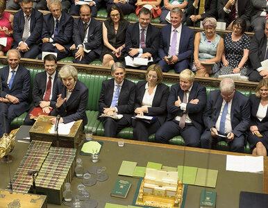 Polityk chciał wynieść berło z brytyjskiego parlamentu. W akcie protestu