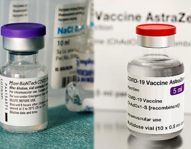 Pozytywny skutek przyjmowania 2 różnych szczepionek przeciwko COVID-19....
