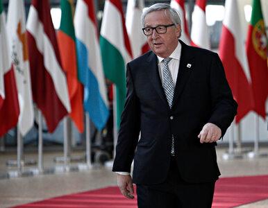 """Nietypowe wyznanie Junckera. """"Do dziś nie znaleziono winnego, a on stoi..."""