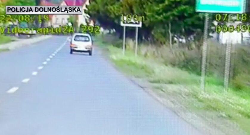 Kierowca Fiata Seicento stracił prawo jazdy