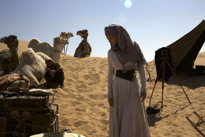 "Kadr zfilmu ""Królowa pustyni"" / ""Queen oftheDesert"" (2015)"