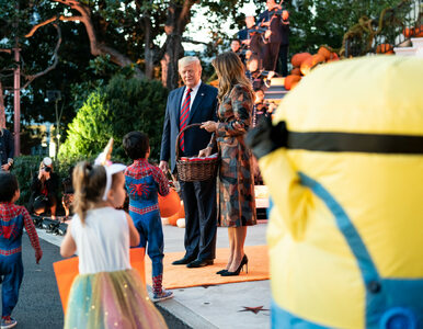 Halloween w Białym Domu. Trump miał problem z Minionkiem