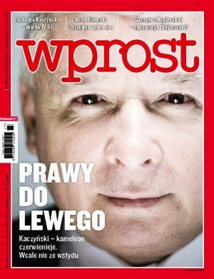 Okładka tygodnika Wprost nr 27/2010 (1430)