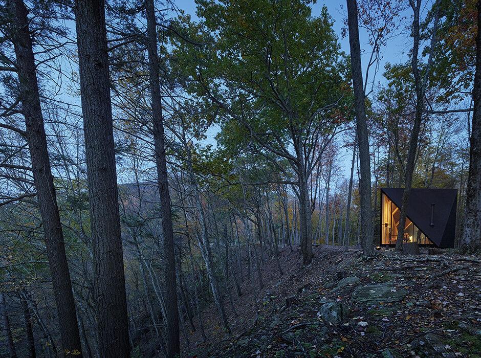 Minidom w lesie Minidom firmy Kleins