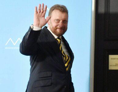 Szumowski: Przepraszałem za to. Mieliśmy z premierem gentleman's agreement