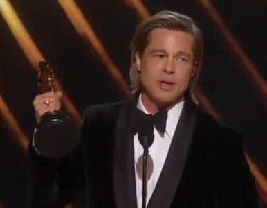 Brad Pitt nagrodzony Oscarem za rolę Cliffa Bootha. Co powiedział...