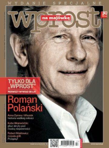Okładka tygodnika Wprost nr 18/2012 (1524)