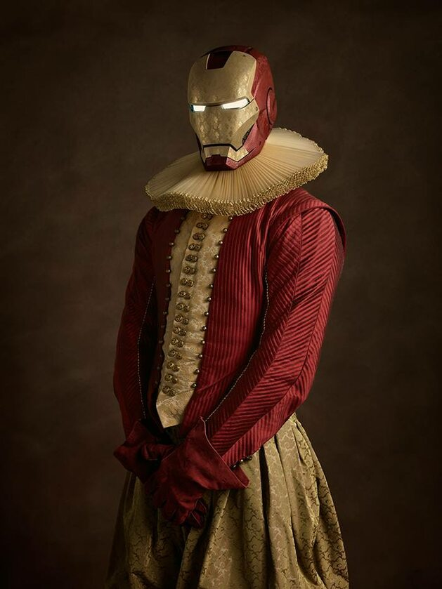 Iron Man, Fot. Sacha Goldberger / Facebook