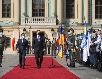 """Prezydenci Polski i Ukrainy podpisali deklarację. """"Potępiamy zbrodnie..."""