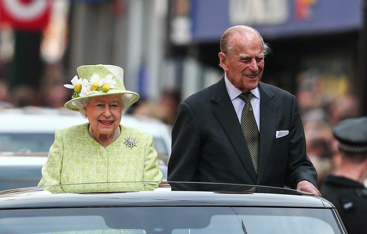 Królowa Elżbieta i książę Filip w 2016 roku