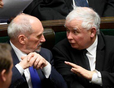 """""""Niedyskrecje parlamentarne"""": Kaczyński rozczarowany Macierewiczem...."""