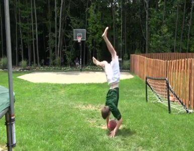 Najpierw salto, potem kosz - niezwykły wyczyn nastolatka
