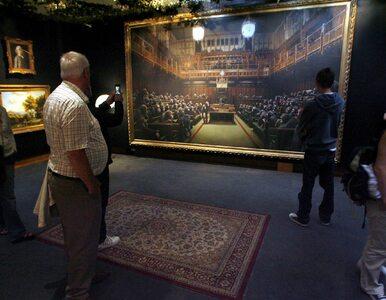 Rekordowe 12,2 mln dolarów za słynne dzieło Banksy'ego. Pomógł brexit?