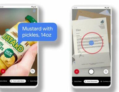 Ta aplikacja odczytuje etykiety artykułów spożywczych niewidomym