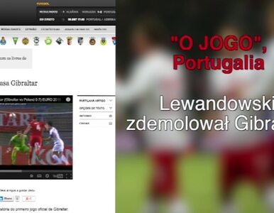 Światowe media chwalą Lewandowskiego za rozstrzelanie Gibraltaru