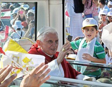 Benedykt XVI w Libanie: wzywam do pokoju