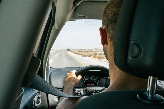 Jazda samochodem isłuchanie audiobooków naStorytel