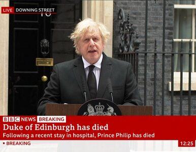 Nie żyje książę Filip. Specjalne oświadczenie premiera Wielkiej Brytanii