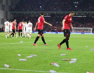 Albańczycy nie unikną kary za butelkowy skandal podczas meczu z Polską....