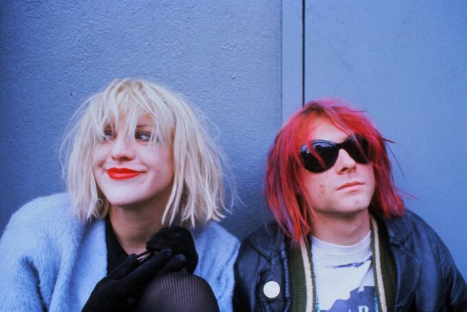 """Kadr zfilmu """"Kurt Cobain: Montage ofHeck"""" (2015)"""