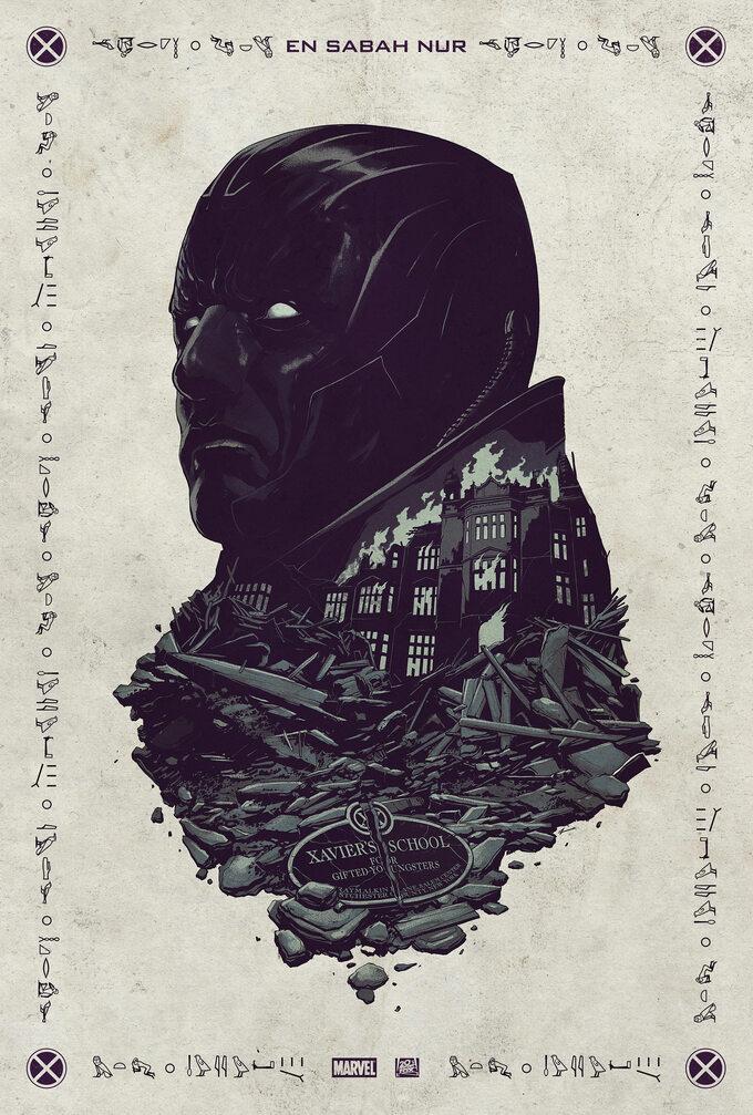 Comic-Con -X-Men: Apocalypse -plakat