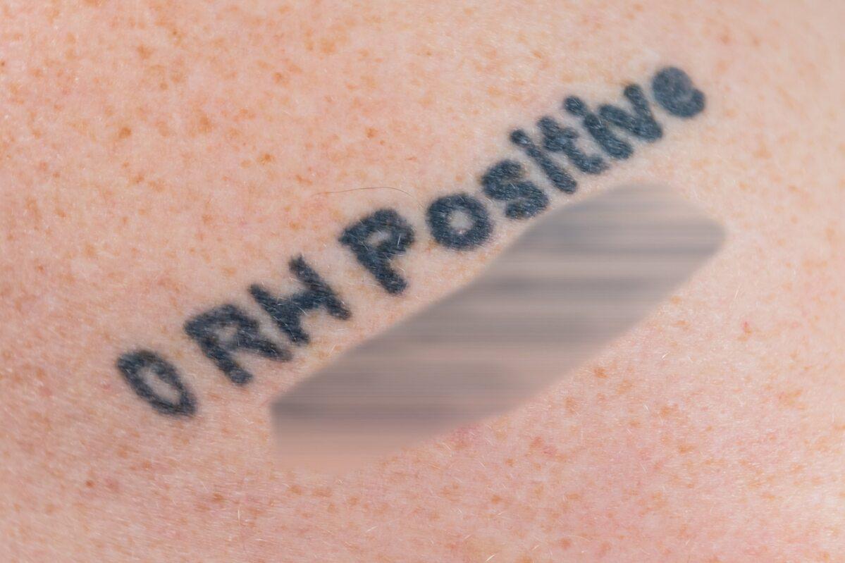 Tatuaż Nigela Thwaitesa