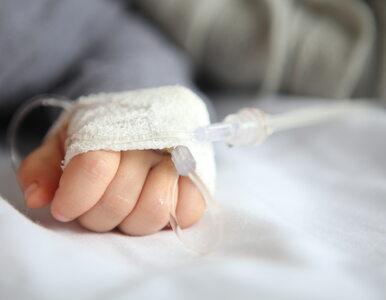 13-miesięczna dziewczynka walczy o życie. Wypiła substancję do...