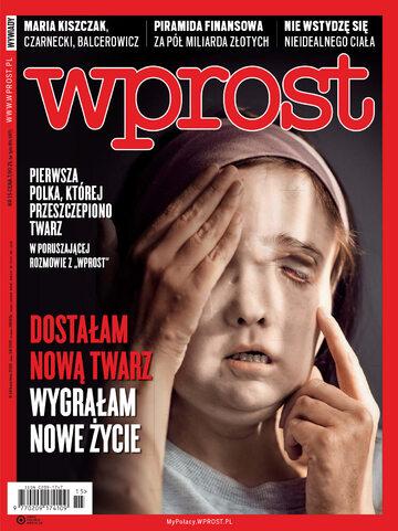 Okładka tygodnika Wprost nr 15/2019 (1881)