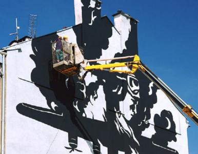 Niezwykły mural upamiętni historię samolotu zestrzelonego nad Krakowem