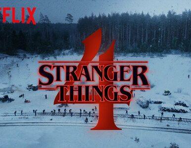 """""""Stranger Things 4"""" zapowiedziane! Lepszego prezentu walentynkowego już..."""