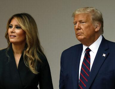 USA. Donald i Melania Trumpowie zakażeni koronawirusem