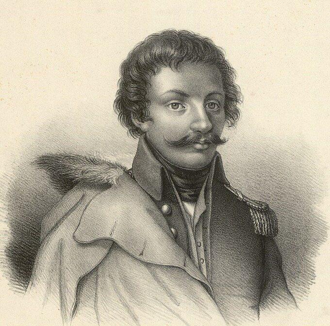 Władysław Jabłonowski nalitografii Julii Grodzickiej