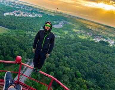 Wspiął się na dach hotelu Marriott w Warszawie. Kim jest 31-letni śmiałek?