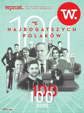 Okładka tygodnika Wprost nr 25/2021 (1990)