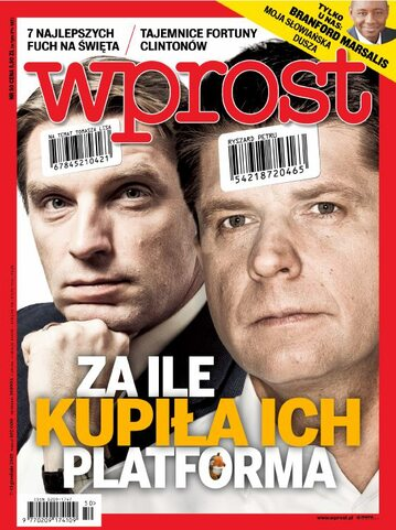 Okładka tygodnika Wprost nr 50/2015 (1715)