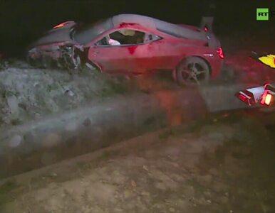 """Arturo Vidal rozbił Ferrari 458 Italia. """"Wracałem z kasyna, wypiłem dwa..."""