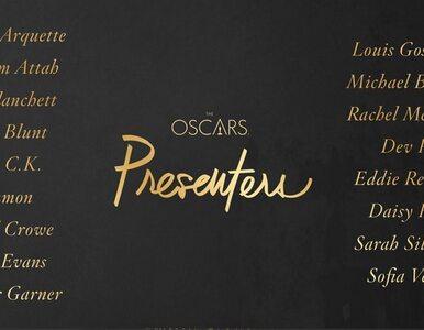Kto będzie rozdawał Oscary? Podano listę 17 gwiazd