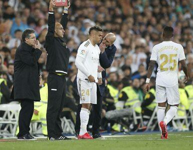 Liga Mistrzów. Zawodnik Realu Madryt wrócił z urlopu z koronawirusem i...