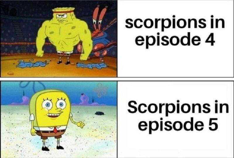 Skuteczność skorpionów nagle zmalała