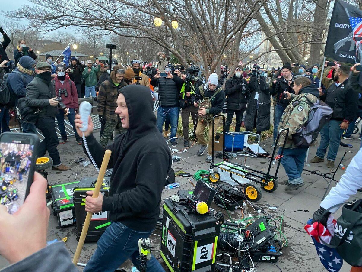 Zamieszki na Kapitolu