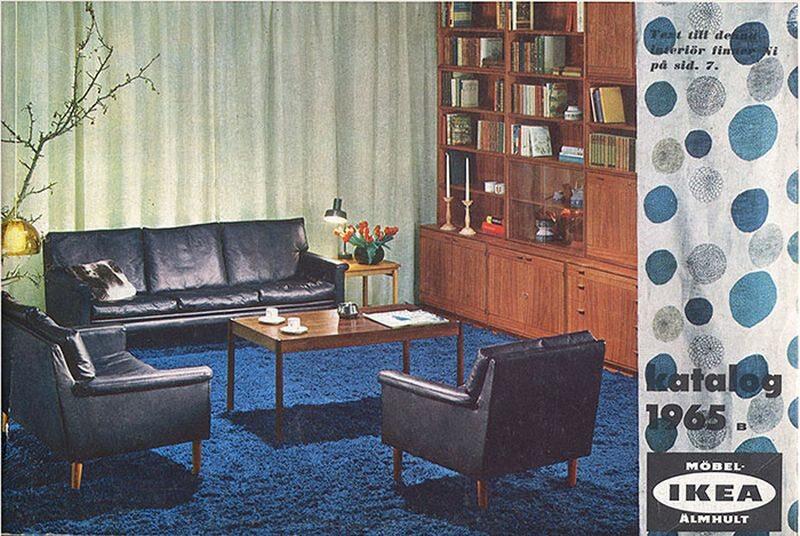 Okładka katalogu IKEA z 1965 roku