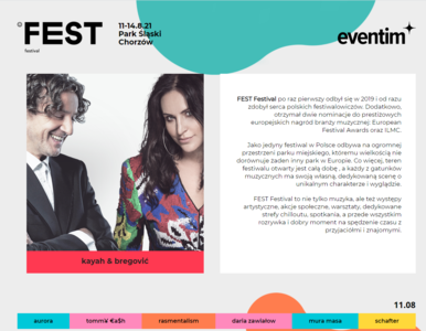 Oficjalny komunikat organizatora FEST Festivalu