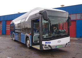 Pierwszy autobus wodorowy napolskich ulicach